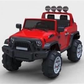 12V Kids Ride On Car SUV MP3 2.4GHZ Remote Control LED Lights Red