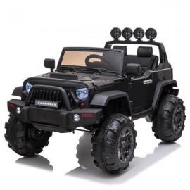 12V Kids Ride On Car SUV MP3 2.4GHZ Remote Control LED Lights Black