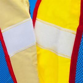 "157.2 x 141.6 x 110.4"" Slide Inflatable Bounce House Castle Moonwalk Jumper Bouncer"