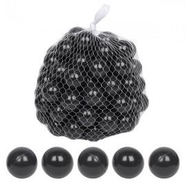 100pcs 5.5cm Fun Soft Plastic Ocean Ball Swim Pit Toys Baby Kids Toys black