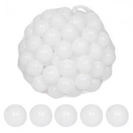 100pcs 5.5cm Fun Soft Plastic Ocean Ball Swim Pit Toys Baby Kids Toys White