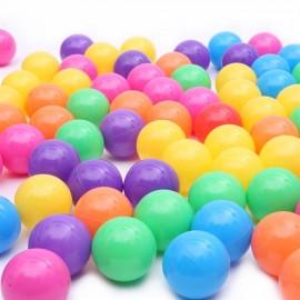 100pcs 7cm Fun Soft Plastic Ocean Ball Swim Pit Toys Baby Kids Toys Colorful